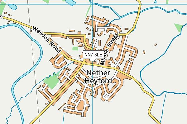 The Bliss Charity School map (NN7 3LE) - OS VectorMap District (Ordnance Survey)