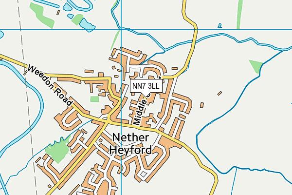 NN7 3LL map - OS VectorMap District (Ordnance Survey)