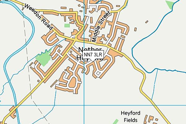 NN7 3LR map - OS VectorMap District (Ordnance Survey)