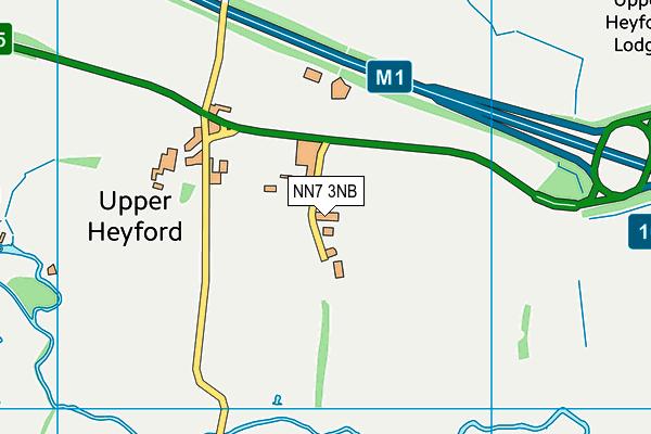 NN7 3NB map - OS VectorMap District (Ordnance Survey)