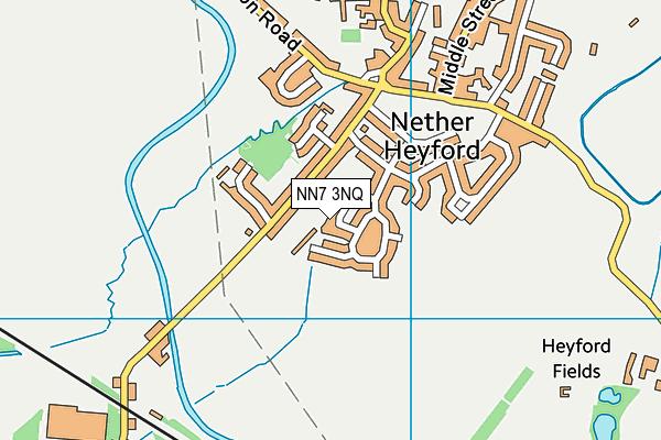 NN7 3NQ map - OS VectorMap District (Ordnance Survey)