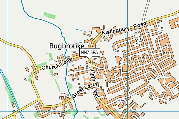 Bugbrooke Community Primary School map (NN7 3PA) - OS VectorMap District (Ordnance Survey)