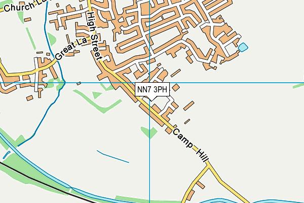 Bugbrooke St Michael Fc map (NN7 3PH) - OS VectorMap District (Ordnance Survey)