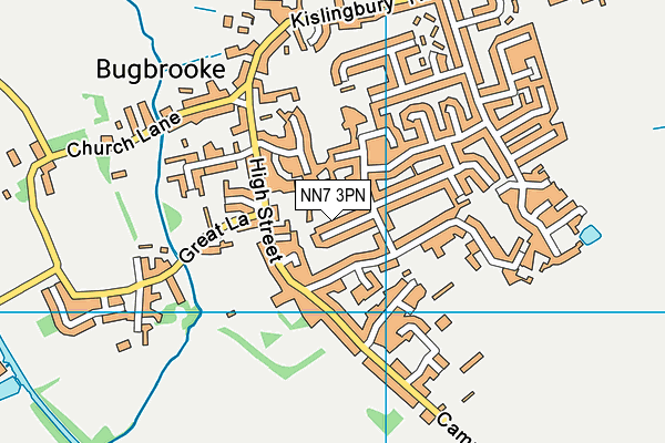 NN7 3PN map - OS VectorMap District (Ordnance Survey)