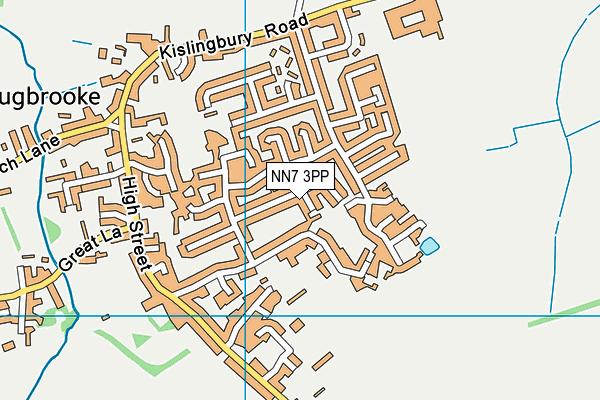 NN7 3PP map - OS VectorMap District (Ordnance Survey)