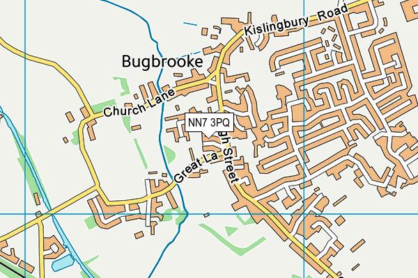 NN7 3PQ map - OS VectorMap District (Ordnance Survey)