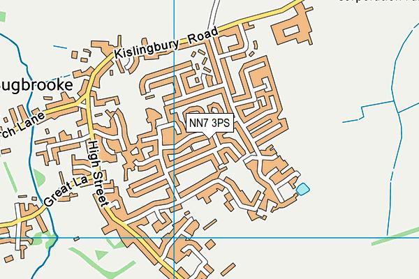 NN7 3PS map - OS VectorMap District (Ordnance Survey)