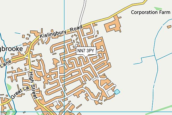 NN7 3PY map - OS VectorMap District (Ordnance Survey)