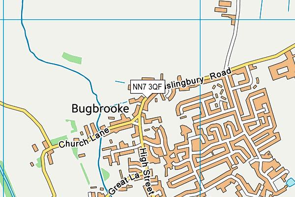 NN7 3QF map - OS VectorMap District (Ordnance Survey)
