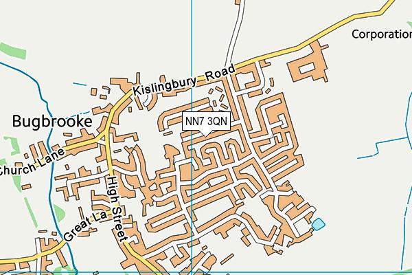 NN7 3QN map - OS VectorMap District (Ordnance Survey)