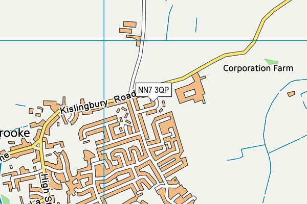 NN7 3QP map - OS VectorMap District (Ordnance Survey)