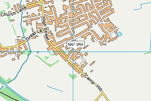 NN7 3RH map - OS VectorMap District (Ordnance Survey)