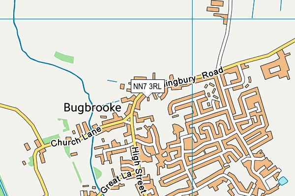 NN7 3RL map - OS VectorMap District (Ordnance Survey)