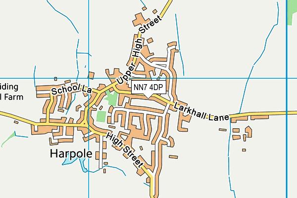 NN7 4DP map - OS VectorMap District (Ordnance Survey)