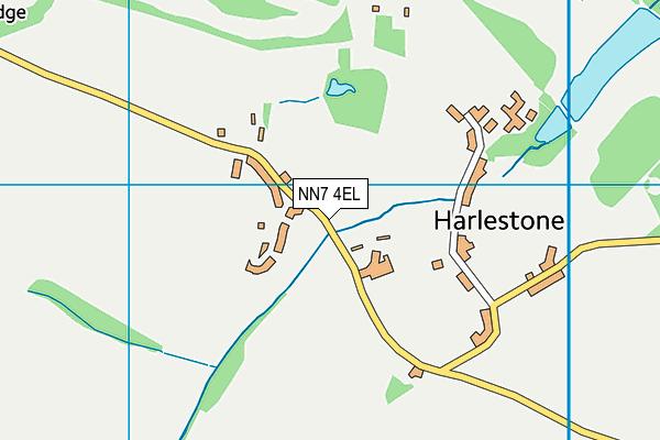 NN7 4EL map - OS VectorMap District (Ordnance Survey)
