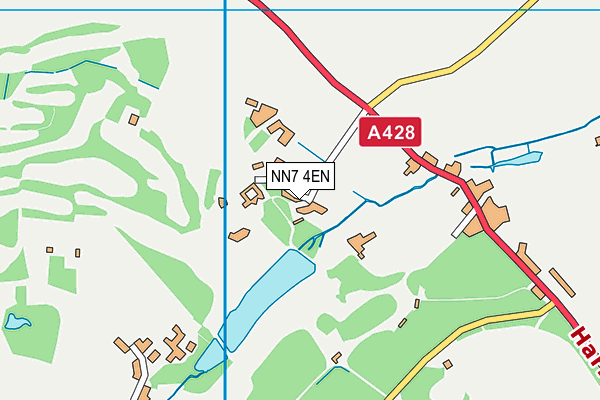 NN7 4EN map - OS VectorMap District (Ordnance Survey)
