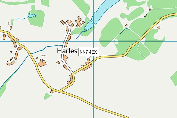 NN7 4EX map - OS VectorMap District (Ordnance Survey)