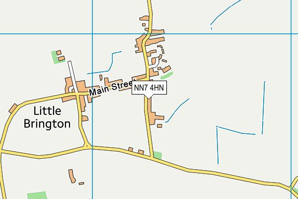 NN7 4HN map - OS VectorMap District (Ordnance Survey)
