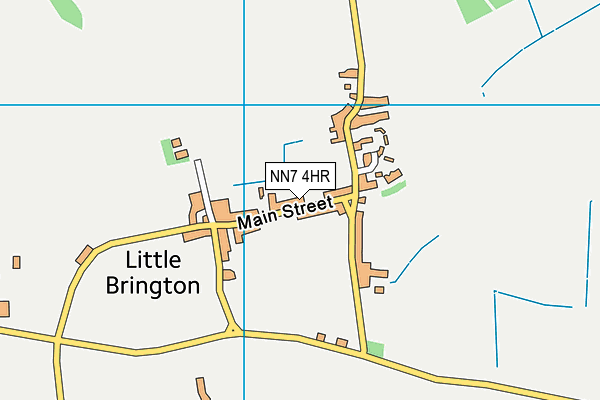 NN7 4HR map - OS VectorMap District (Ordnance Survey)