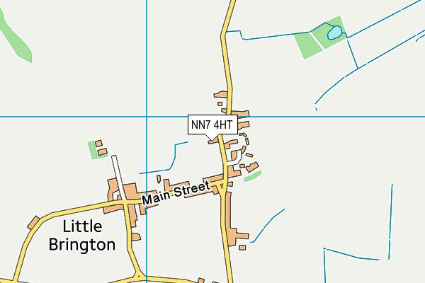 NN7 4HT map - OS VectorMap District (Ordnance Survey)