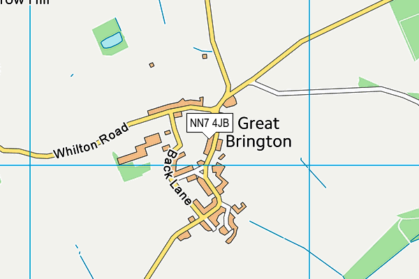 NN7 4JB map - OS VectorMap District (Ordnance Survey)