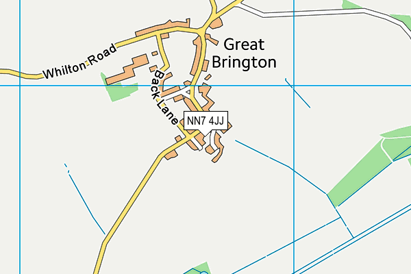 NN7 4JJ map - OS VectorMap District (Ordnance Survey)