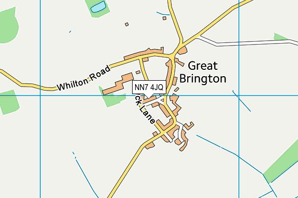 NN7 4JQ map - OS VectorMap District (Ordnance Survey)