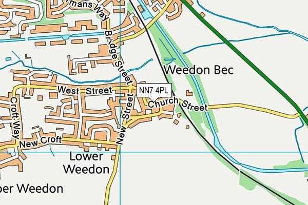 Map of FLEETSERVE (NORTHANTS) LTD at district scale