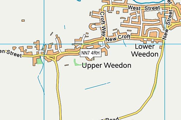 NN7 4RH map - OS VectorMap District (Ordnance Survey)