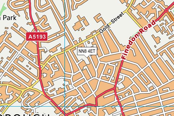 The Avenue Infant School map (NN8 4ET) - OS VectorMap District (Ordnance Survey)