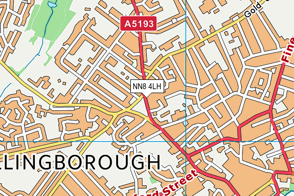 NN8 4LH map - OS VectorMap District (Ordnance Survey)