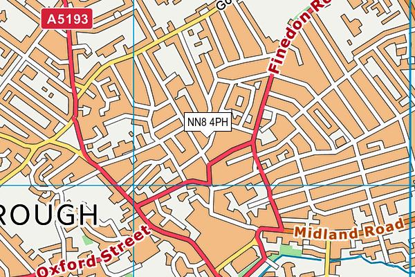 Park Junior School, Wellingborough map (NN8 4PH) - OS VectorMap District (Ordnance Survey)