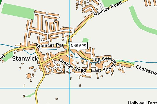 Stanwick Academy map (NN9 6PS) - OS VectorMap District (Ordnance Survey)
