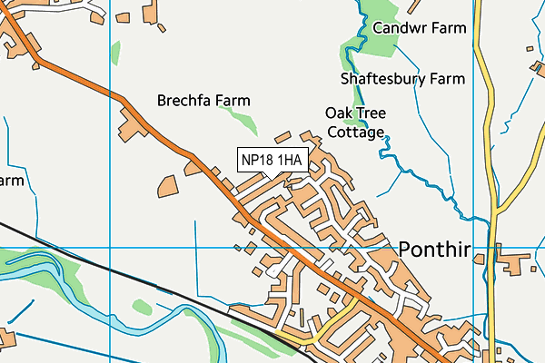 Map of LEATHER POINT UK LIMITED at district scale
