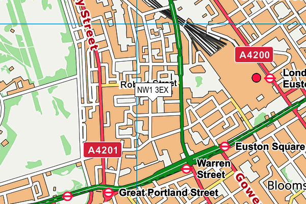 Netley Primary School & Centre for Autism map (NW1 3EX) - OS VectorMap District (Ordnance Survey)