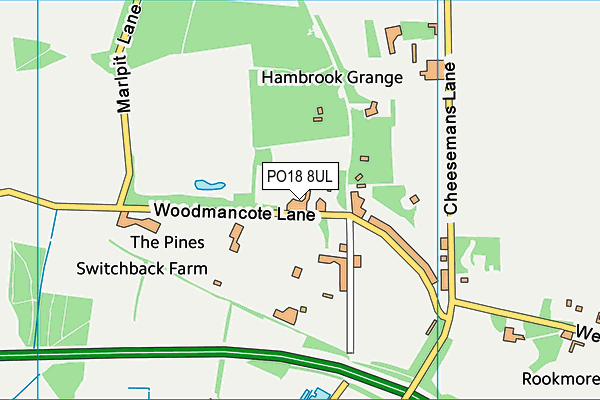 Map of ROUNDWOOD ROSE LIMITED at district scale