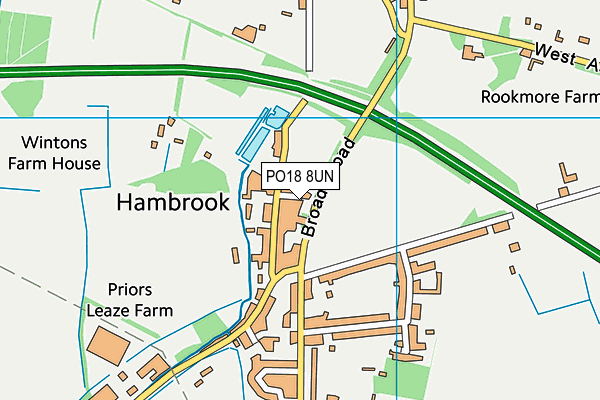 Map of GOODWOOD PARTNERS LIMITED at district scale