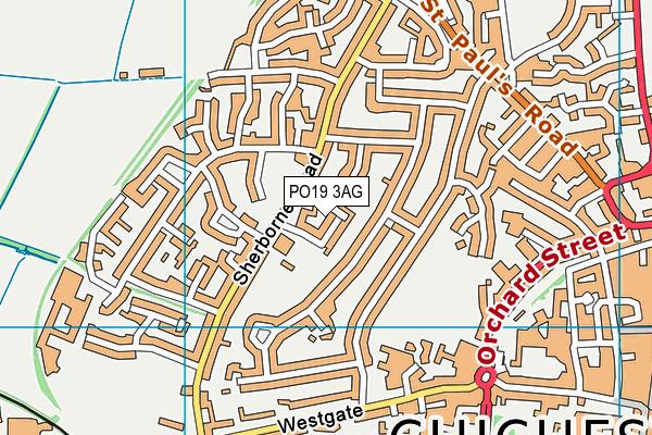 Parklands Community Primary School map (PO19 3AG) - OS VectorMap District (Ordnance Survey)