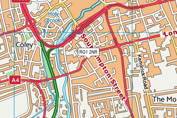 RG1 2NR map - OS VectorMap District (Ordnance Survey)
