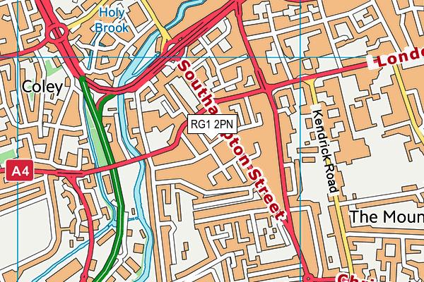 RG1 2PN map - OS VectorMap District (Ordnance Survey)