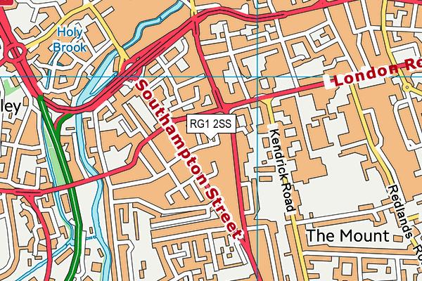 RG1 2SS map - OS VectorMap District (Ordnance Survey)