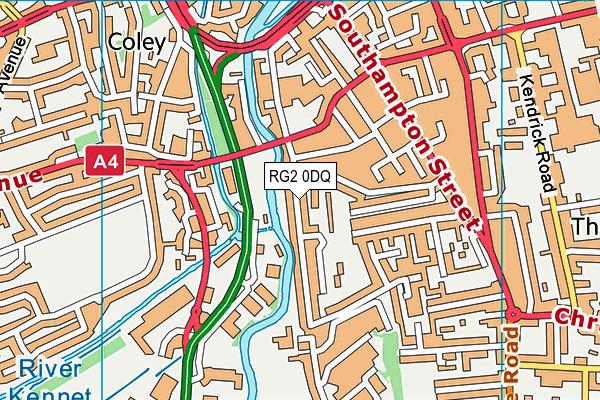 RG2 0DQ map - OS VectorMap District (Ordnance Survey)