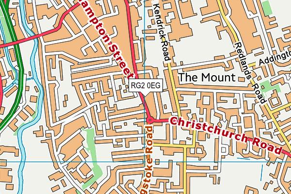 Express Fitness Gym (Closed) map (RG2 0EG) - OS VectorMap District (Ordnance Survey)