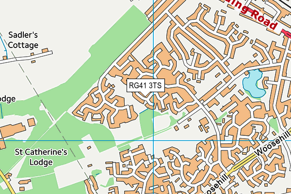 Map of MOWBRAY PARTNERS LIMITED at district scale