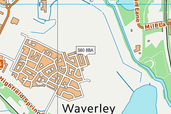 81aafd677d216 S60 8BA map - OS VectorMap District (Ordnance Survey)