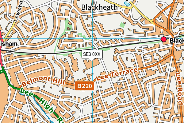 St Matthew Academy map (SE3 0XX) - OS VectorMap District (Ordnance Survey)