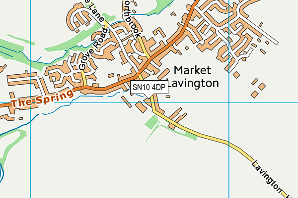 Map of MARKET LAVINGTON (WHITE HORSE) MANAGEMENT LIMITED at district scale