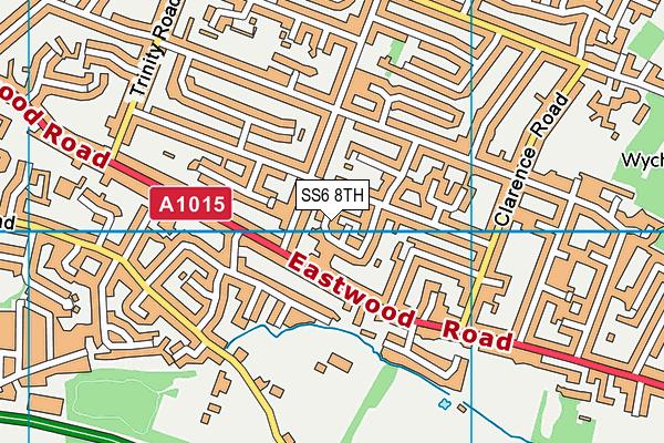 ss6 8th map os vectormap district ordnance survey