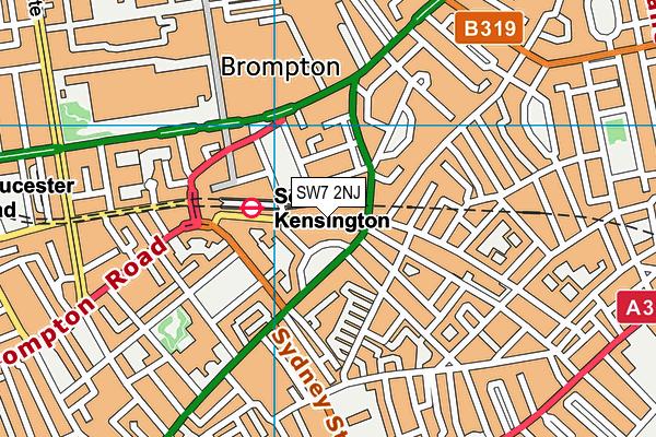 South Kensington London Map.Pure Gym London South Kensington