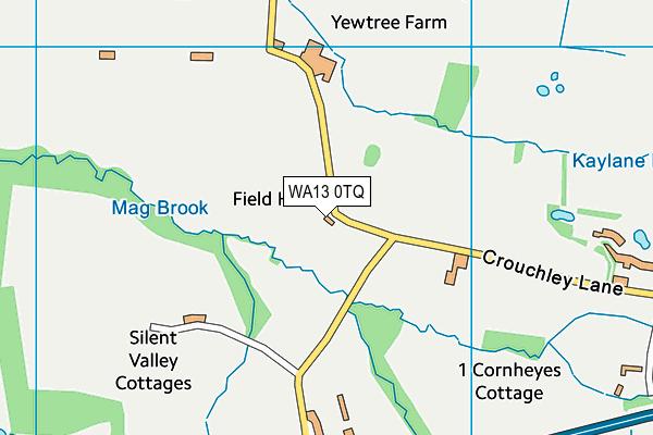 WA13 0TQ map - OS VectorMap District (Ordnance Survey)